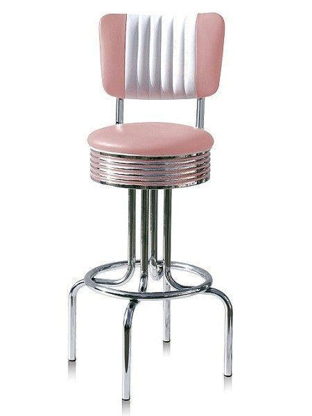 Tabouret am ricain vintage d coration us 50 39 s et 60 39 s for Siege de tabouret de bar