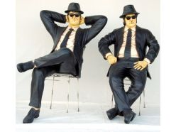 Blues Brothers assis