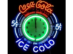 Horloge Coca-Cola Ice Cold