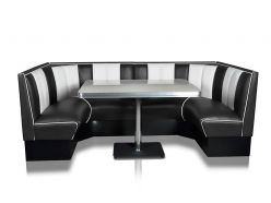 Banquette Sixties 120 cm D'angle .
