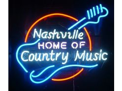 Néon Nashville Country