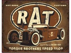 Rat Rod Rouillé