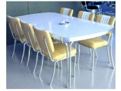 Table de Diner rectangulaire Sixties