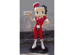 Statue Betty Boop Rouge