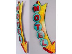 Grande plaque XL MOTEL