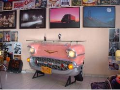 Bar , comptoir Chevrolet bel air