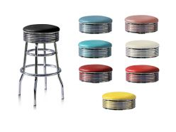 Tabouret de bar simple Sixties