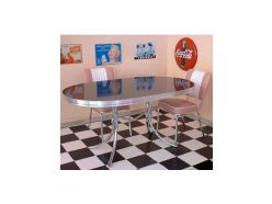 Table ovale Sixties 150 cm