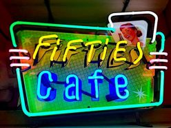 Néon Fifties Café
