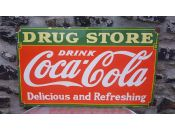 Plaque Coca Cola Drug Store