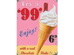 Grande Plaque XL Glace Try' 99
