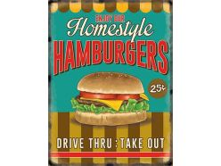 Grande Plaque XL Hamburgers