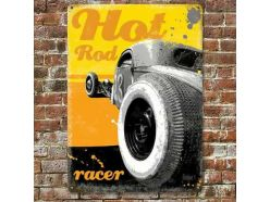 Grande Plaque XL Hot Rod Racer