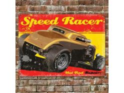 Grande Plaque XL Speed Racer