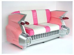 Banquette Cadillac Rose