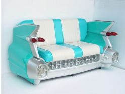 Banquette Cadillac Turquoise