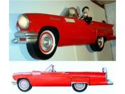 Ford Thunderbird rouge